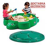 Песочница - Веселая черепаха  Little Tikes Outdoor 631566E3 + Бесплатная доставка