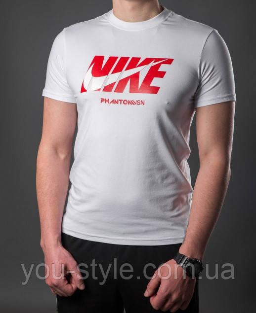 Футболка мужская Nike 5387 Белая