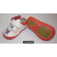 Пинетки, мокасины, туфельки для девочки, 13 размер, кожаная стелька, супинатор, 112-010-05