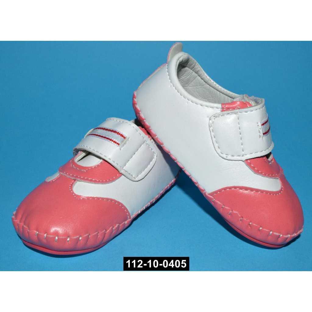 Пинетки, мокасины, сандалики для девочки, 17 размер / 14 см, 112-10-0405