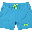 Пляжные шорты Tauwell. Цвет: голубой, фото 6
