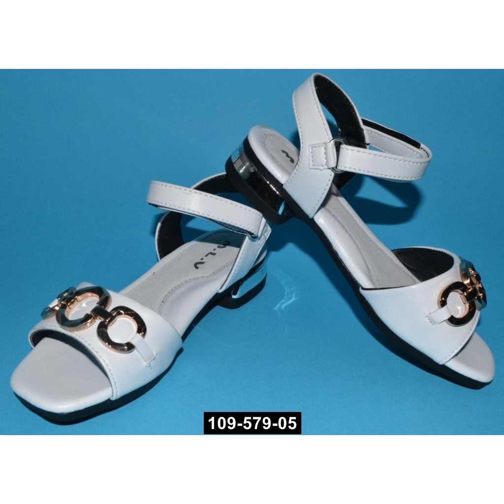 Нарядные босоножки для девочки, 26,27,29,31 размер, праздничная обувь на утренник, выпускной, 109-579-05