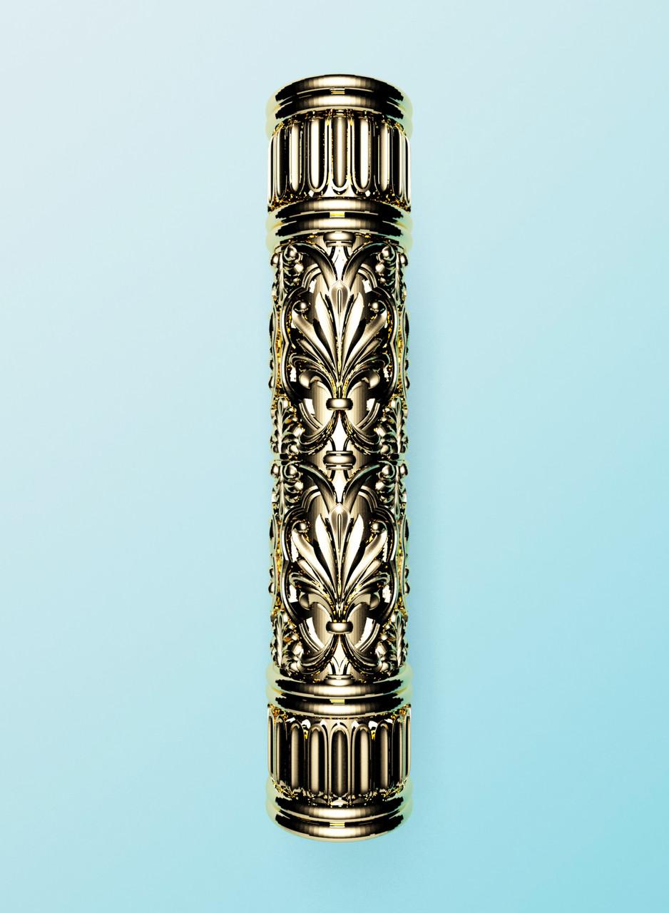 Колона різьблена дерево 100×100×500 мм