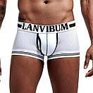 Белые красивые боксеры Lanvibum, фото 3