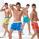 Короткие синие мужские шорты  Gailang, фото 4
