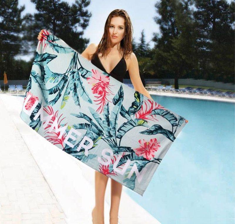 Пляжное махровое полотенце Summer Sun