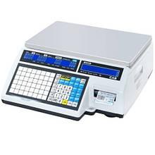 Торговые весы с чекопечатью CAS CL5000J-IB