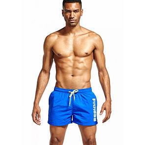Мужские  шорты синего цвета Eussieinq