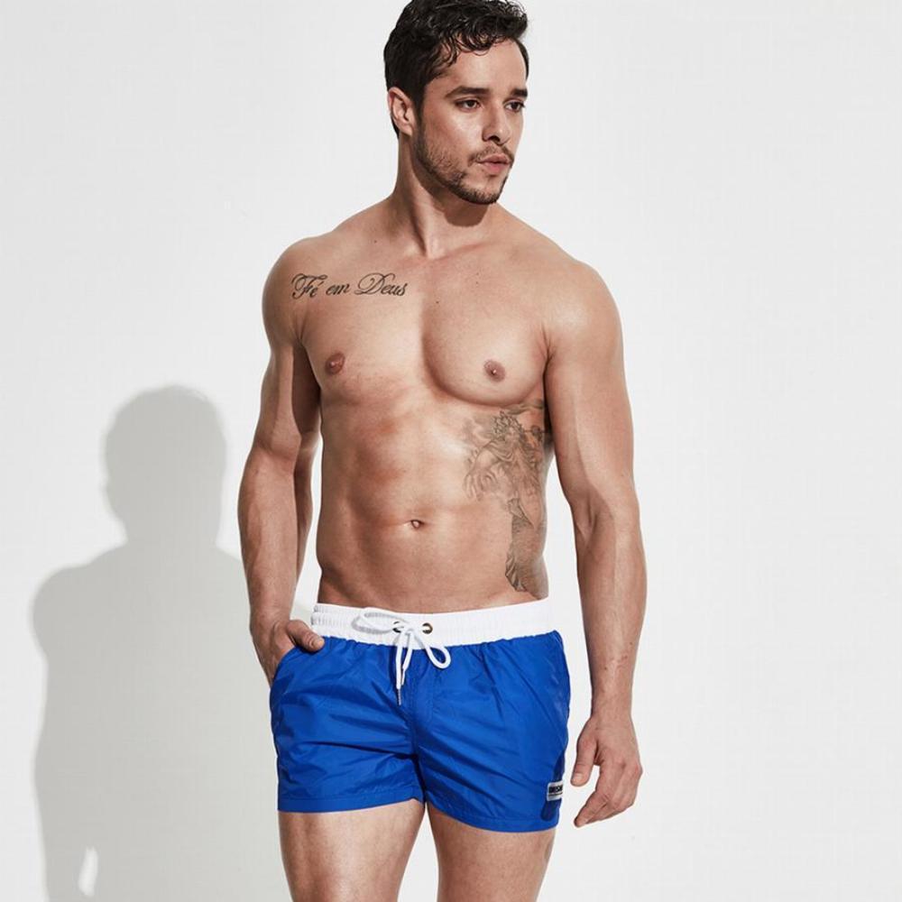 Пляжні сині шорти