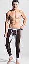Коричневые подштанники для мужчин в черную полоску, фото 6