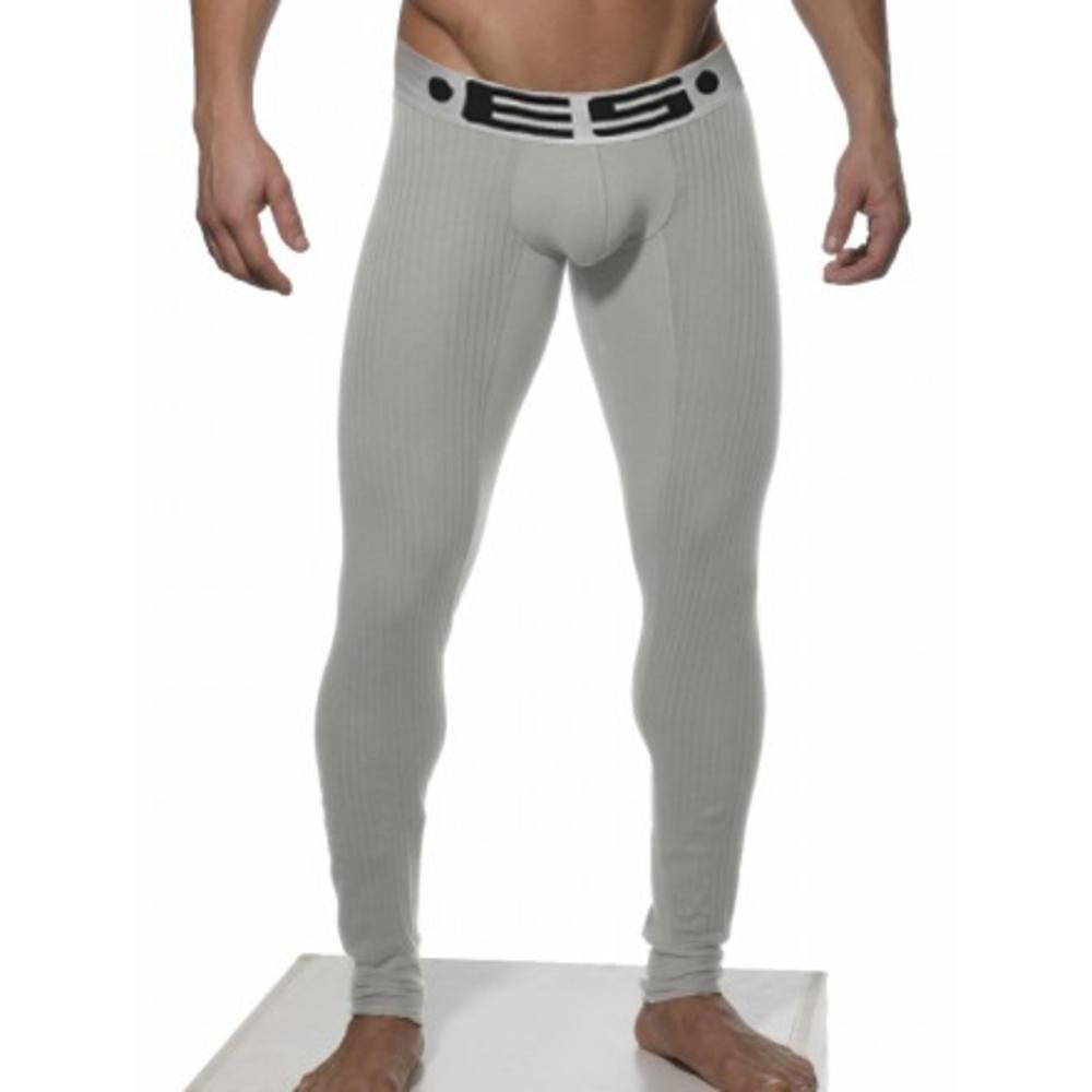Чоловічі підштаники з бавовни сірого кольору