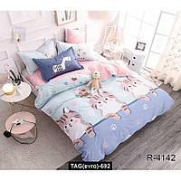 Комплект постельного белья с компаньоном R4142, TAG(evro)-692
