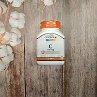 21st Century Vitamin C 110 tab 500 mg, витамини С 110 таб 500 мг США, фото 1