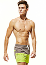 Пляжные двухцветные мужские шорты Seobean, фото 2