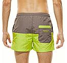 Пляжные двухцветные мужские шорты Seobean, фото 4