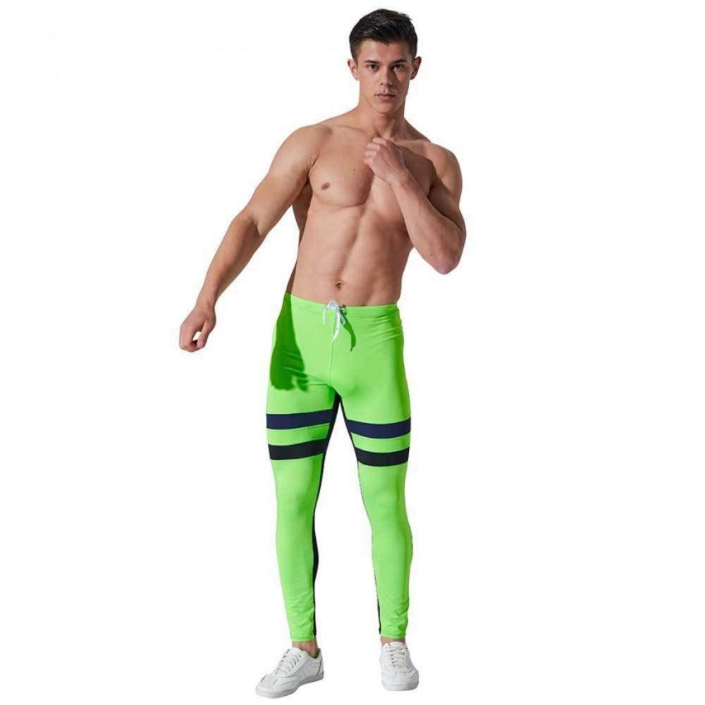 Стильные спортивные штаны Aqux салатового цвета