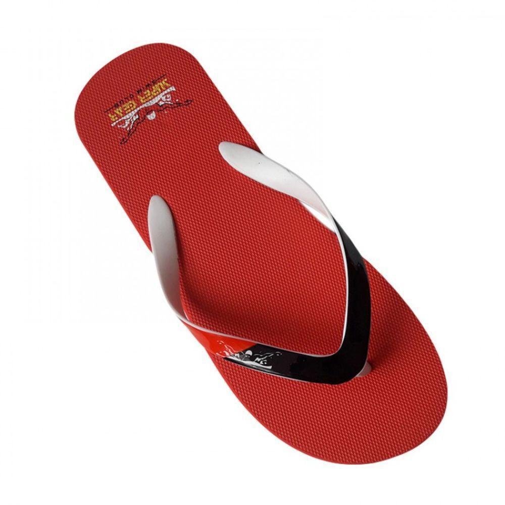 Вьетнамки для парней Super Gear красного цвета