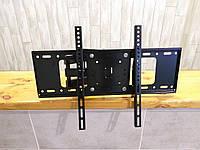 """Крепление настенное поворотное для телевизоров CP501 32""""-55"""". Кронштейн на стену ТВ TV,от 32 до 55 дюймов"""