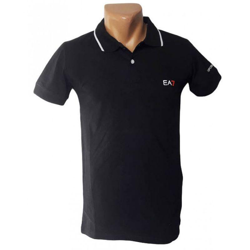 Мужская черная футболка Armani