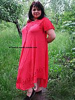 Женское платье летнее- ламбада (с 50 по 58 размер), фото 1