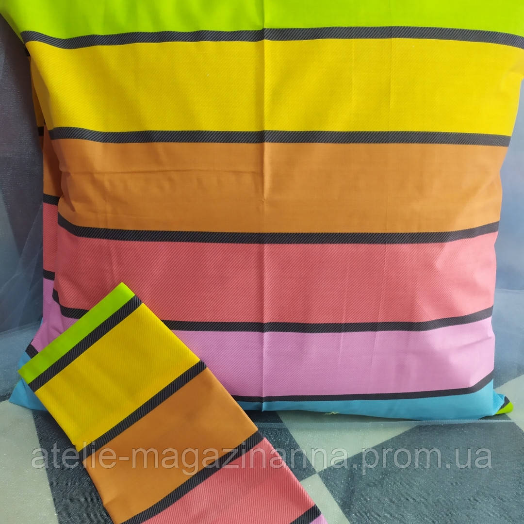 Наволочка 60*60 разноцветная