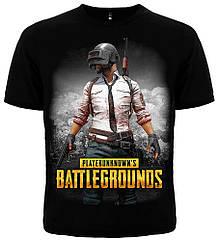 Футболка PUBG (Playerunknown's Battlegrounds), Размер 4XL (XXXL Euro)