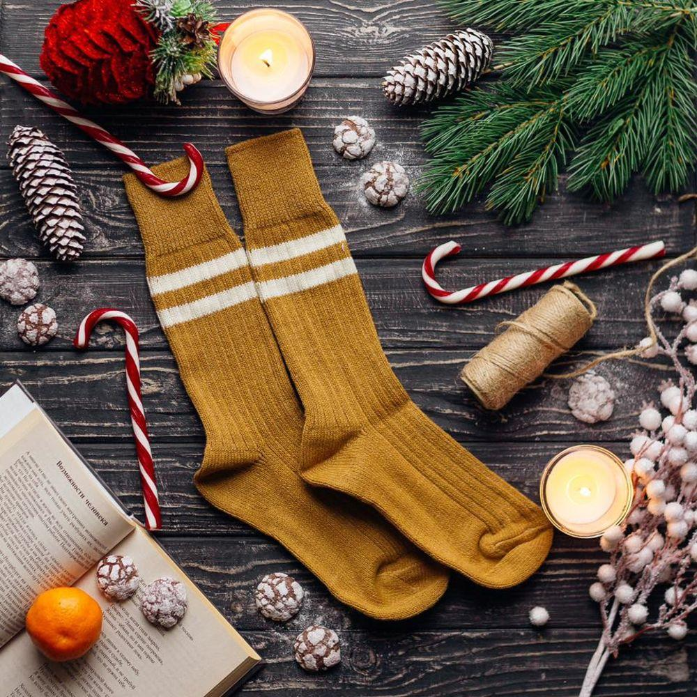"Зимние носки с двумя полосками ""KOLEN"" от Sammy Icon"