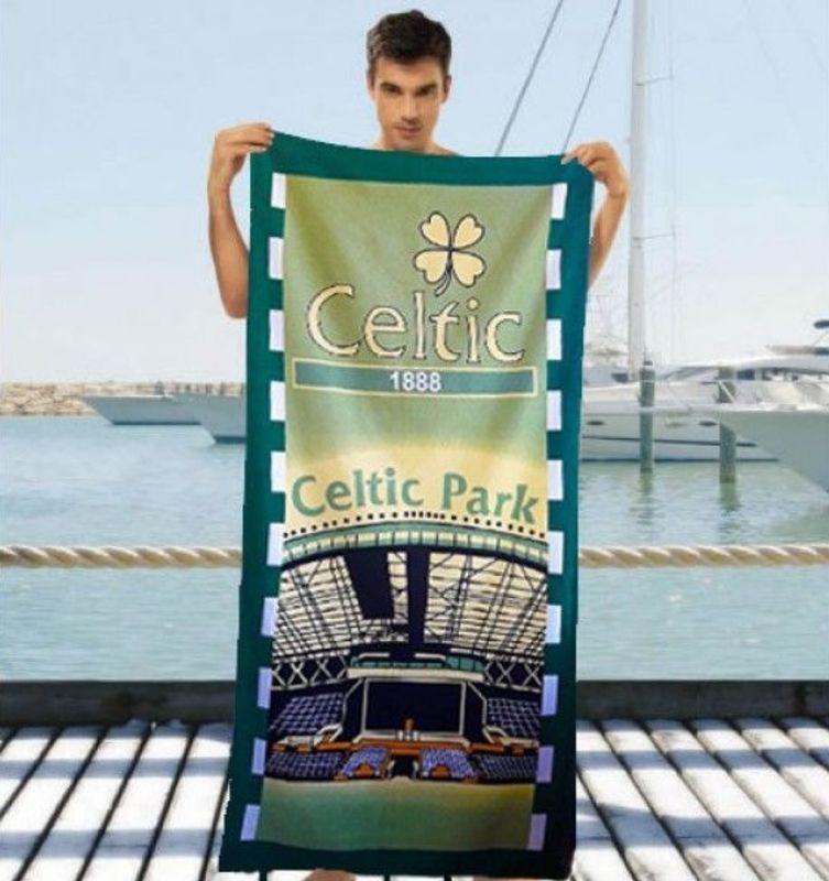 Чоловіче пляжний рушник Celtic Park