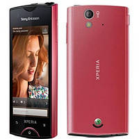 Сенсорный телефон Sony Ericsson Xperia ray ST18i  с процессором snapdragon, GPS навигацией и камерой 8 Мп красный