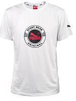 PUMA  футболка  с принтом