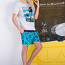 Мужские свободные шорты Qike, фото 2