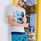 Мужские свободные шорты Qike, фото 4