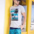 Мужские свободные шорты Qike, фото 5