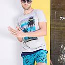 Мужские свободные шорты Qike, фото 6