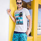 Мужские свободные шорты Qike, фото 7