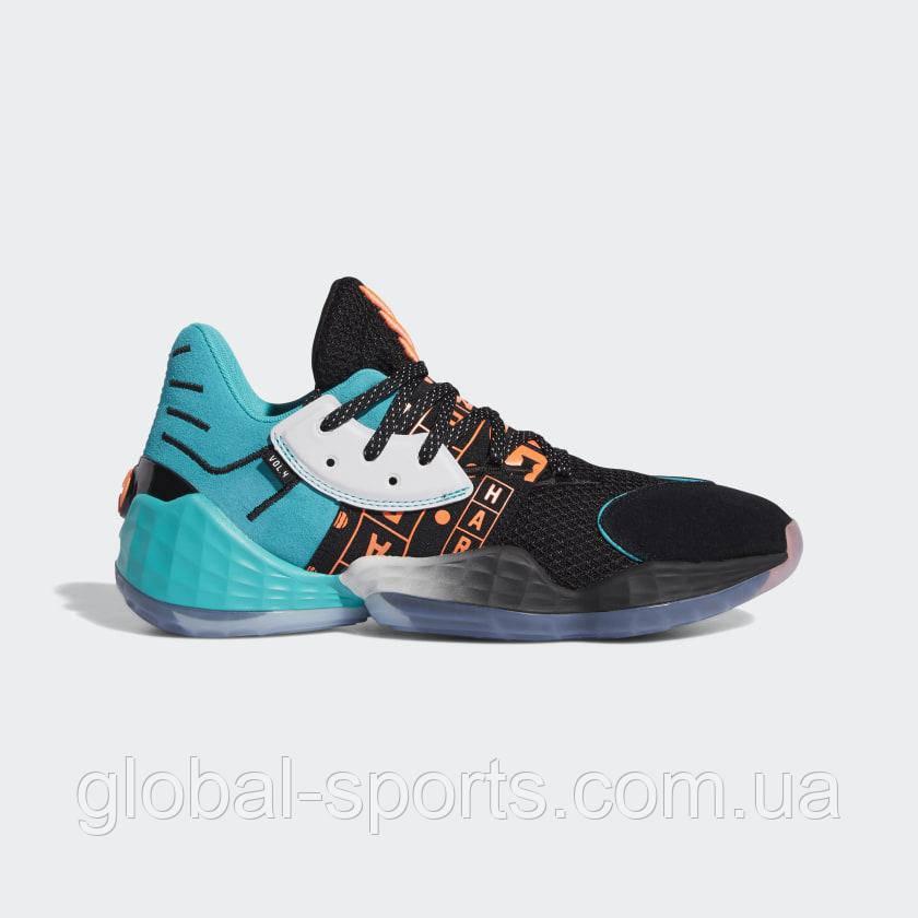 Чоловічі баскетбольні кросівки Adidas Harden Vol. 4(Артикул:EH1999)