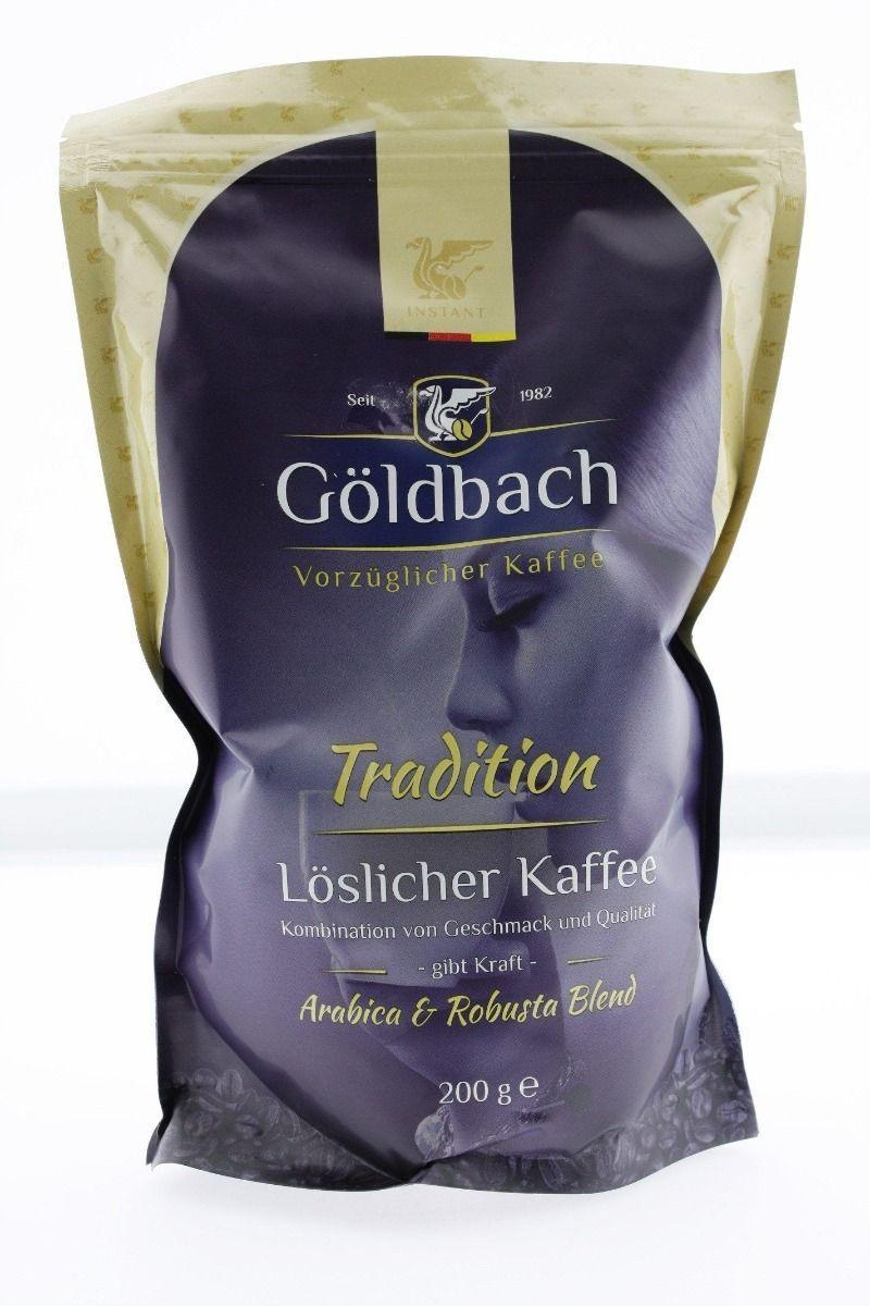 Goldbach Tradition розчинну каву 200 грам в м'якій упаковці