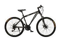 """Велосипед Oskar 26""""M123 черно-белый (рама - сталь, переключатели Snimano)"""
