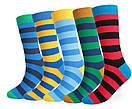 Шкарпетки червоно-чорну смужку від Friendly Socks, фото 7
