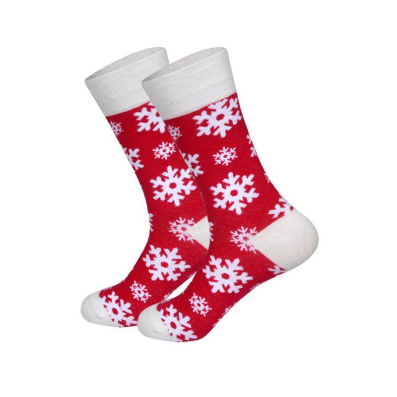 """Новогодние носки """"Снежинка"""" от Friendly Socks"""