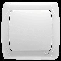 Выключатель Viko Carmen белый (90561001)