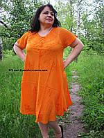 Женское платье летнее- ламбада (с 50-58 размер), фото 1