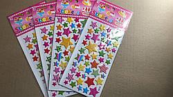 Набор детских найлеек Stickers Звезды