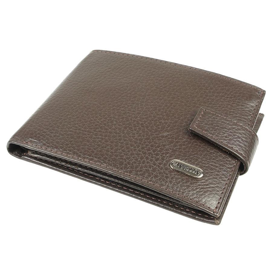 Чоловічий шкіряний гаманець Canpellini 503-14 brown