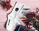 """Белые носки """"Craneo"""" с интересным принтом от Sammy Icon, фото 2"""