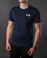 Футболка мужская Under Armour 5341 Тёмно-синяя
