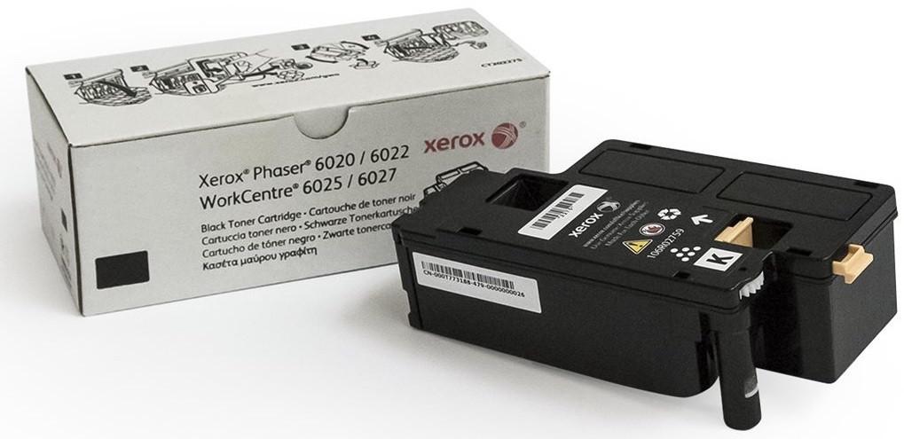 Тонер-картридж Xerox Phaser 6020/6022 WorkCentre 6025/6027 Black 2000 страниц