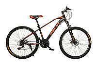 """Велосипед Oskar 26""""M115 черный (рама - сталь, переключатели Snimano)"""