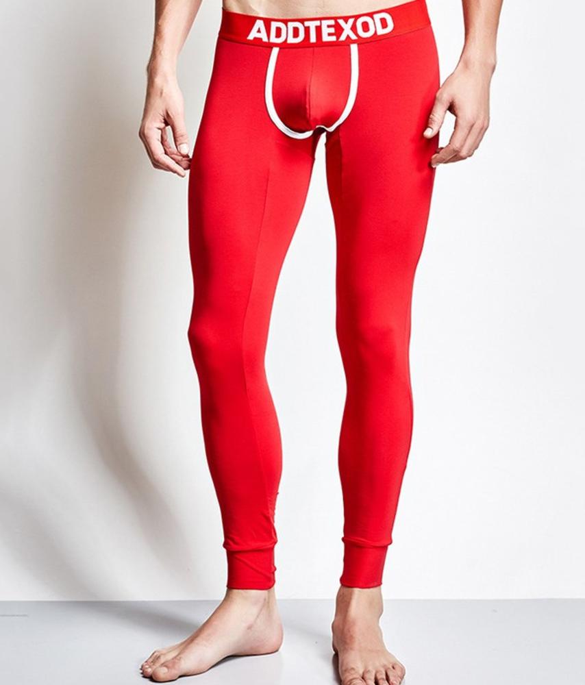 Ярко красные подштанники для мужчин Addtexod