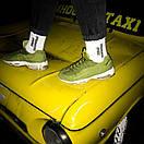 """Білі шкарпетки з написом """"Лівий коронний - Правий похоронний"""", фото 6"""
